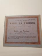 Titre Belge : Eaux De Vienne - Shareholdings