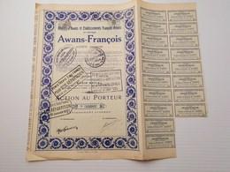 Titre Belge : Awans François - Shareholdings