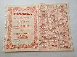 Titre Belge : Probea à Verviers - Shareholdings
