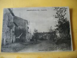 54 988 CPA -  54 LEMAINVILLE - GRANDE RUE. - Autres Communes