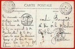 Marcophilie Cad KOULIKORO & KAYES (Soudan Français) + MOPTI (Sénégambie Et Niger) + Type Sage (2 Différents) Sur CPA - France (former Colonies & Protectorates)