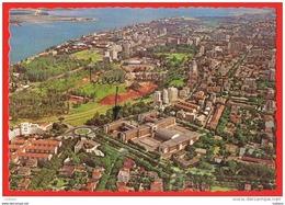 Lourenço Marques - Vista Aérea Aerial View - Liceu - Moçambique Mozambique - Mozambique