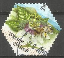 PITCAIRN. QE2. $1 FLOWER USED - Stamps