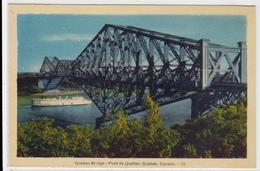 Le Pont De Québec, Quebec. PECO, (F478) - Québec - Sainte-Foy-Sillery