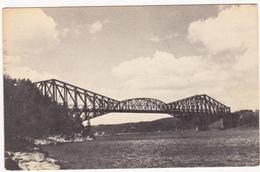 Le Pont De Québec , Quebec.  (F481) - Québec - Sainte-Foy-Sillery