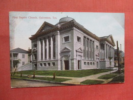 First Baptist Church - Texas > Galveston  Ref 3830 - Galveston