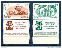 Israel - 1960, Michel/Philex No. : 212/213,  - MNH - *** - Full Tab - Israel