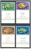 Israel - 1962, Michel/Philex No. : 266-269,  - MNH - *** - Full Tab - Neufs (avec Tabs)