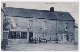 St. Paul Du Vernay - Le Bureau De Tabac. Epicérie, Grains, Sons G. Aublet, ± 1910 - Francia