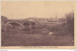 NIEVRE LA CHARITE SUR LOIRE LE PONT DE FONTE - La Charité Sur Loire