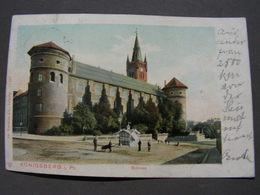 Königsberg Nach Giessen 1903 - Polen