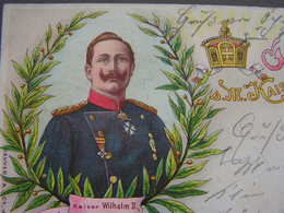 Kaiser Wilhelm 1903 Giessen - Königshäuser