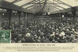 CONGRES NATIONAL DU SILLON (Paris 1909) RV - France