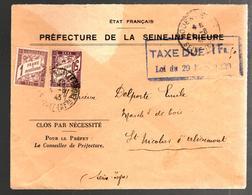 27031 - ENVELOPPE ETAT  FRANCAIS - Guerre De 1939-45