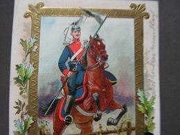 Herliche Reiter Karte In Uniform Aus Hanau 1903 - Uniformi