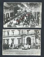 MILITARIA PHOTO Org 16,5X11 MILITAIRE 29 MAI 38 CONGRÉS NATIONAL L N M R A C À PÉRIGUEUX VIVE LA FRANCE PÉTAIN CHARLIE - Guerre, Militaire