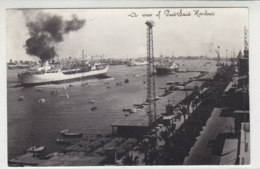 A View Of Port Said Harbour / Schiffe - Port Said