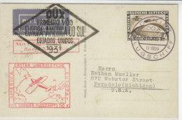 Kopie - Zeppelin Karte - Deutschland