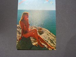 Mädchen Am Strand Verlagskarte France - Pin-Ups