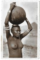 Cameroun )  MOKOLO  - Porteuse D' Eau  (  Femme Seins Nus ) - Camerun