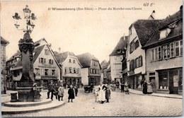 67 WISSEMBOURG - La Place Du Marché Aux Choux. - Wissembourg