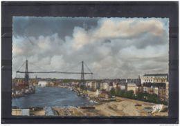 44267 . NANTES . VUE D ENSEMBLE SUR LE PORT ET LE PONT TRANSBORDEUR - Nantes