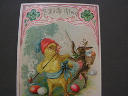 Oster Hanau Litho 1902 - Pasqua