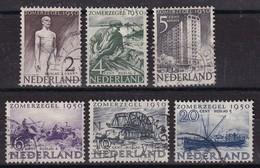 Netherlands 1950, Complete Set Vfu. Cv 35 Euro - Periodo 1949 - 1980 (Giuliana)