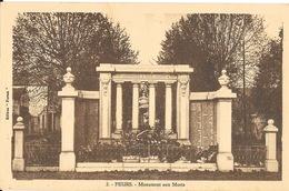 Feurs (Loire) Le Monument Aux Morts - Edition Forum - Carte N° 2 - Monuments Aux Morts
