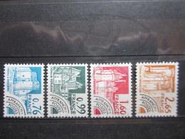 VEND BEAUX TIMBRES PREOBLITERES DE FRANCE N° 166 - 169 , X !!! - 1964-1988