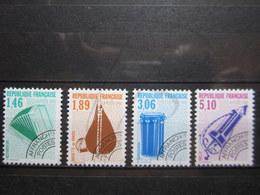 VEND BEAUX TIMBRES PREOBLITERES DE FRANCE N° 206 - 209 , XX !!! - 1989-....