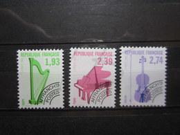VEND BEAUX TIMBRES PREOBLITERES DE FRANCE N° 210 - 212 , XX !!! - 1989-....