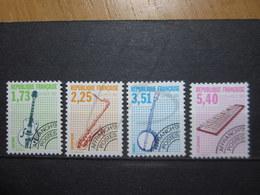 VEND BEAUX TIMBRES PREOBLITERES DE FRANCE N° 224 - 227 , XX !!! - 1989-....