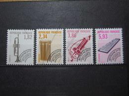 VEND BEAUX TIMBRES PREOBLITERES DE FRANCE N° 228 - 231 , XX !!! - 1989-....