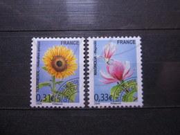 VEND BEAUX TIMBRES PREOBLITERES DE FRANCE N° 257 + 258 , XX !!! - 1989-....