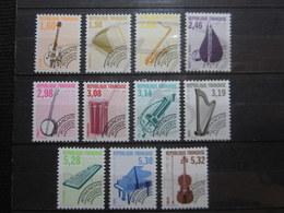 VEND BEAUX TIMBRES PREOBLITERES DE FRANCE N° 213 - 223 , XX !!! - 1989-....