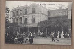 CPA 93 - LE RAINCY - La Terrasse Du Casino - SUPERBE PLAN ANIMATION + GROS PLAN AUTOMOBILE Devant 1906 - Le Raincy