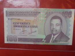 BURUNDI 100 FRANCS 2011 PEU CIRCULER/NEUF - Burundi