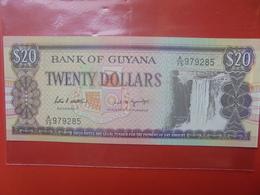 GUYANA 20$ 1989 PEU CIRCULER/NEUF - Guyana