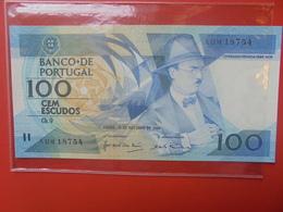 PORTUGAL 100 ESCUDOS 1986-88 PEU CIRCULER - Portugal