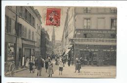 Paris Rue De Belleville Prise De La Rue Levert - France