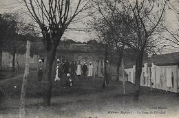 Algérie )   AKBOU  - La Cour De L' Hopital - Algérie