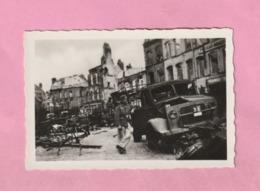 PHOTOGRAPHIE - PHOTO - DUNKERQUE 1940 : SOLDAT ALLEMAND DANS LES RUINES  - WWII - - Orte