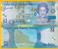 Cayman Islands 1 Dollar P-38 2018 UNC Banknote - Iles Cayman