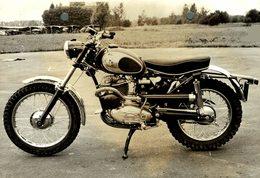 "Puch Moto Cross 250cc +-16cm X 11cm "" Perforada "" Moto MOTOCROSS MOTORCYCLE Douglas J Jackson Archive Of Motorcycles - Sonstige"