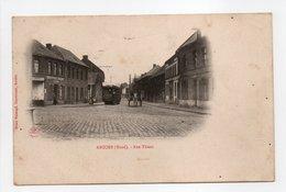 - CPA ANICHE (59) - Rue Thiers (avec Tramway) - Edition Henri Maleugé - - Francia