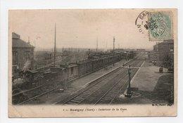 - CPA BUSIGNY (59) - Intérieur De La Gare 1905 - Edition B. F. N° 4 - - France