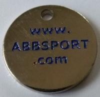 Jeton De Caddie - Sport - ABBSPORT - 80 - ABBEVILLE - En Métal - - Trolley Token/Shopping Trolley Chip
