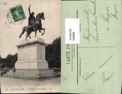 644884,Montpellier Herault Statue Louis XIV Peyrou - France