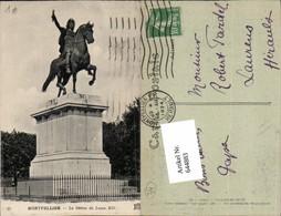 644883,Montpellier Herault Statue Louis XIV Peyrou - France